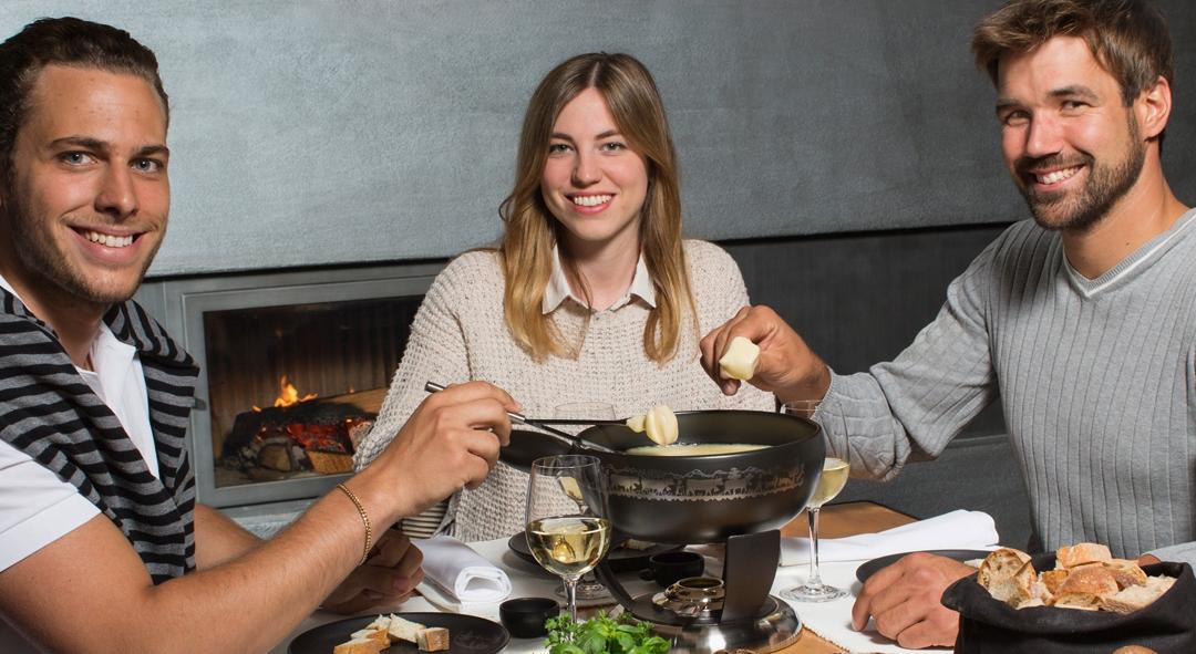 Ambiente Fondue Käse Chinoise Bourguignonne von Stöckli